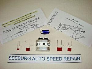 Seeburg JUKEBOX Auto Speed Condensateur Kit, réparations lente Jukes de 1963 To 1967