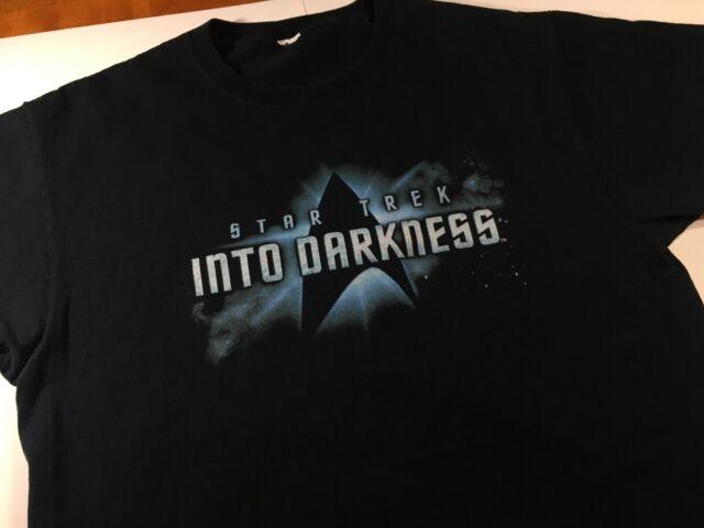 Darkness Black T-Shirt Mens