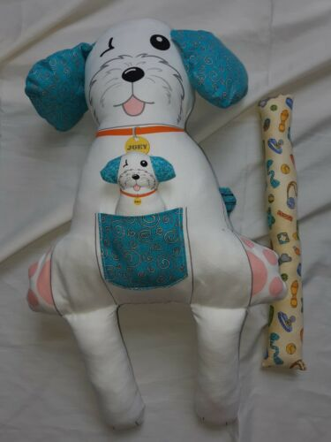 Benartex Fabric 100/% Cotton Joey The Shop Dog Toy Panel
