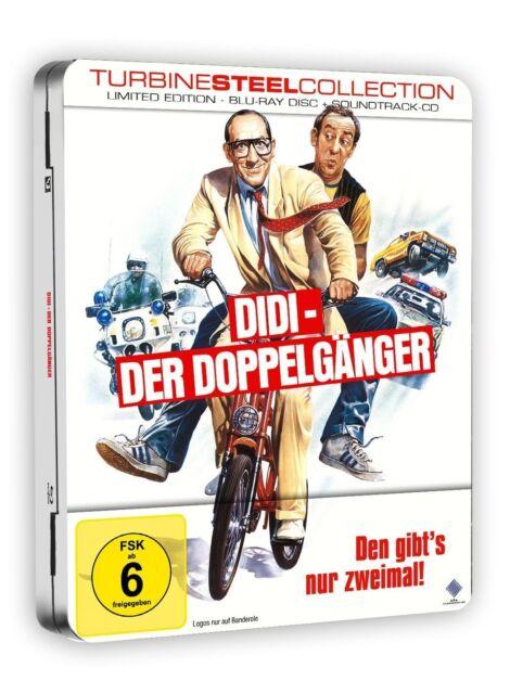 DIDI - DER DOPPELGÄNGER (LIMITED TURBINE STEEL)  BLU-RAY + CD NEU
