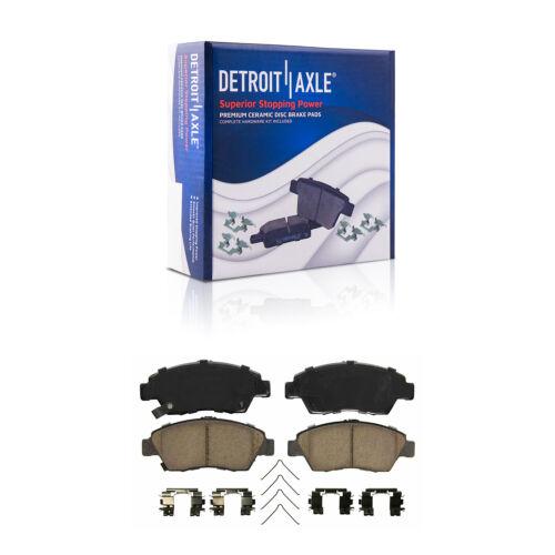 Front for 2012-2014 HYBRID Honda CIVIC DRILLED Rotors and Ceramic Brake Pads Kit