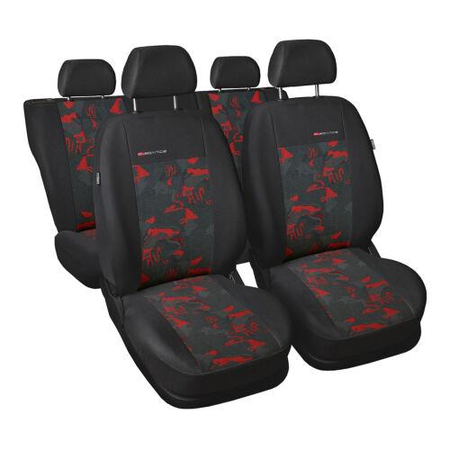 SKODA OCTAVIA 5-sièges rouge Universal Sitzbezüge déjà références déjà référence Siège-auto