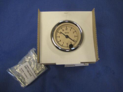 MG Crema Viso BGT MGB o Midget Smiths 52MM Time Clock Classic Auto Kit Magnolia