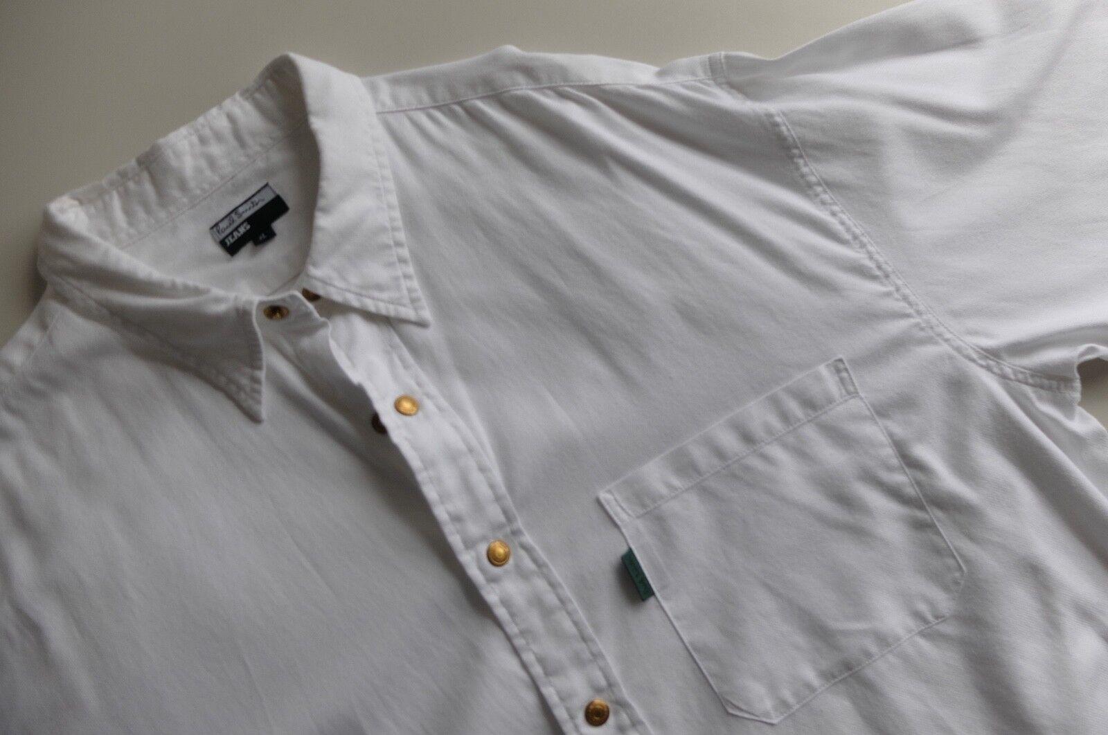 Vintage Paul Smith white l sleeve shirt   XL   Paul Smith Jeans PSJ