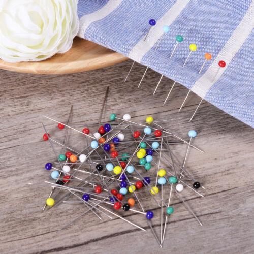 250pcs Sewing Pins Ball Glass Head Pins Straight Quilting Pins DIY Sewing Crafts