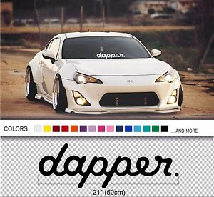 21-034-Dapper-windshield-windscreen-front-car-glass-window-JDM-Mugen-decal-sticker