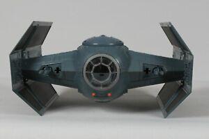 STAR-WARS-DARTH-VADER-TIE-FIGHTER-SPACE-SHIP-SHOOTER-HASBRO-2003-POTF