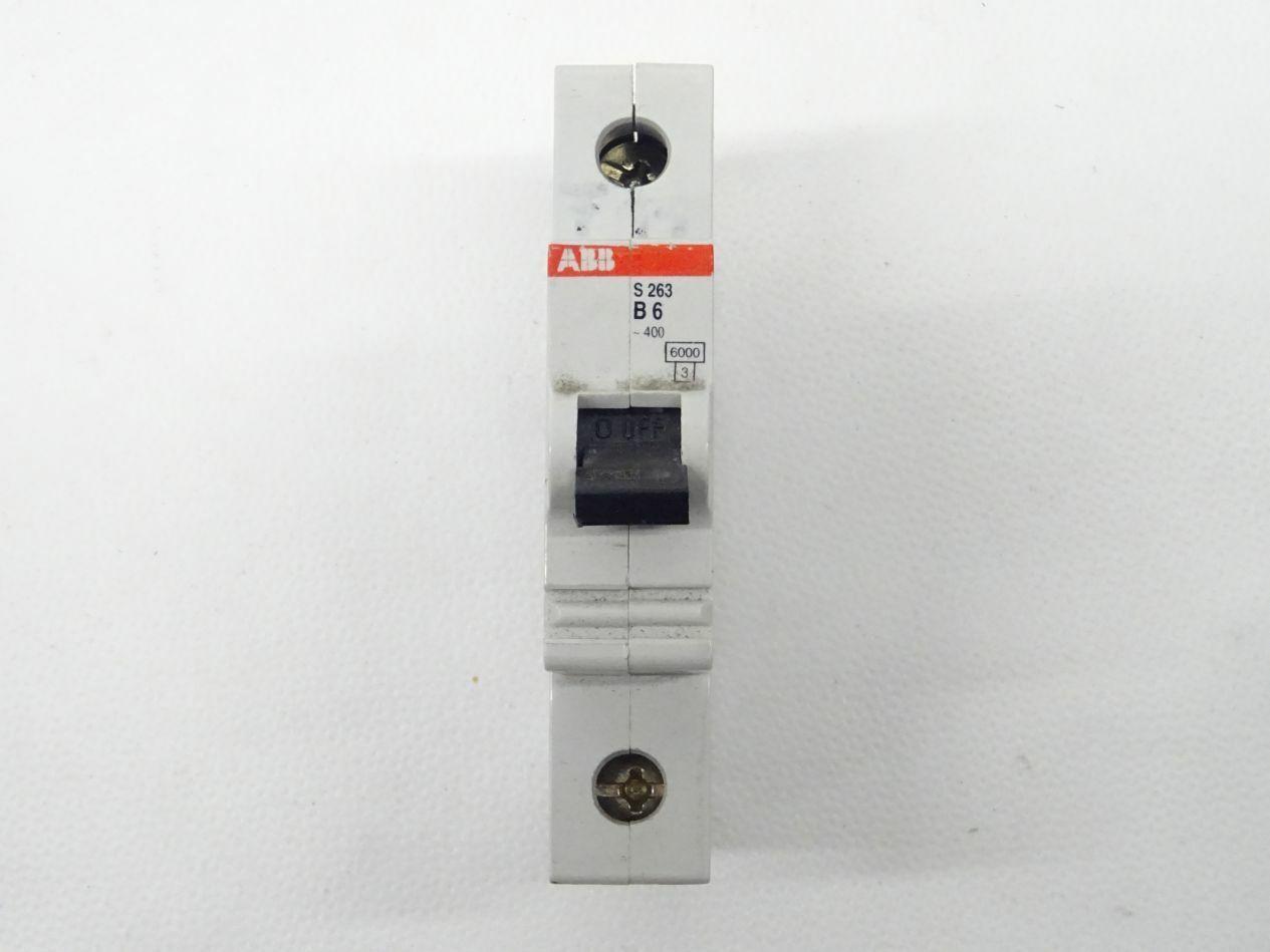 ABB s263 b6 breaker/fuse automatic