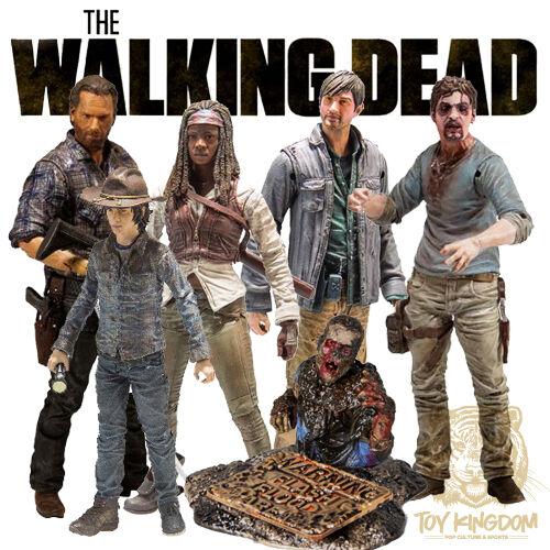 McFarlane The Walking Dead TV Series 7 /& 7.5 COMPLETE SET OF 6 Figures  IN STOCK