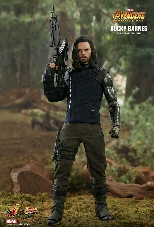 Hot Toys Avengers 3  Infinity War - Bucky Barnes 1 6 Scale Action Figure MMS509