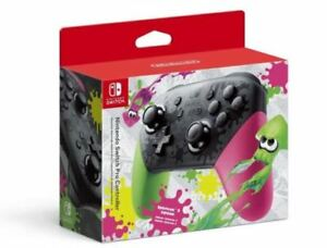 Nintendo Switch Pro Controller, Splatoon 2 Edition (Nintendo Switch) NEW