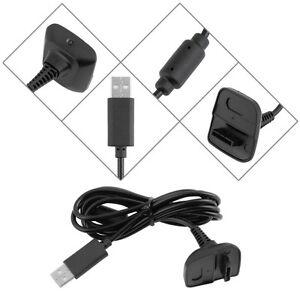1.5 M Play Et Charge Usb Câble Chargeur Plomb Pour Xbox 360 Manette Sans Fil-afficher Le Titre D'origine