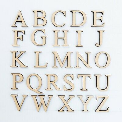 VICTORIAN FONT WOODEN 3.2MM MDF LETTERS /& NUMBERS IN SIZES 2-3-4-5-6-7-8 /& 10cm