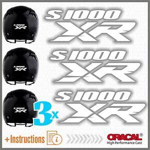 3x-S1000XR-BMW-White-ADESIVI-PEGATINA-S1000-XR-AUTOCOLLANT-S1000-AUFKLEBER