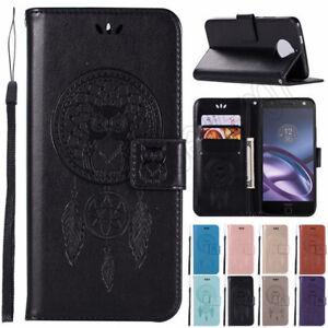 Handy-Tasche-Wallet-Case-Cover-Handyhuelle-Fuer-Motorola-Moto-G4-C-E4-G5-G5S-Plus