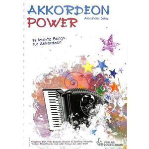 Akkordeon-Power-77-leichte-Songs-fuer-Akkordeon