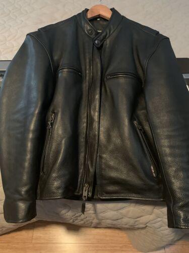 leather jacket motorcycle men