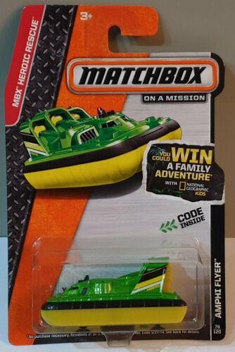 Matchbox 2014 IBE Flyer 74//120 bdt64 Long card MBX heroic Rescue