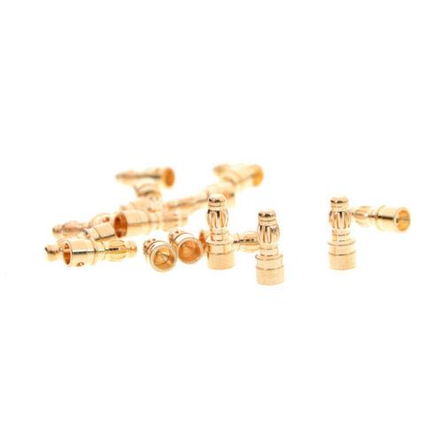 20X3.5mmRC Gold Bullet Stecker Batterie Bananenstecker gold Stecker männlich 4H