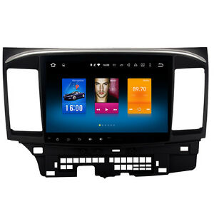 Details about Android 9 0 Car Stereo for Mitsubishi Lancer Radio GPS  Navigation Head Unit Dash