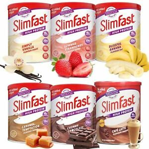 Details About Slimfast Shake Powder Weight Loss Original Meal Replacement Diet Shakes