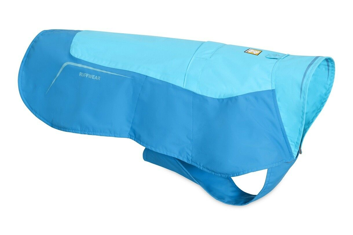 Ruffwear Grün Jacket Fleece Lined Waterproof Dog Jacket 0575 409 Blau Atoll NEW