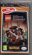 LEGO PIRATES DES CARAIBES PSP NEUF VF