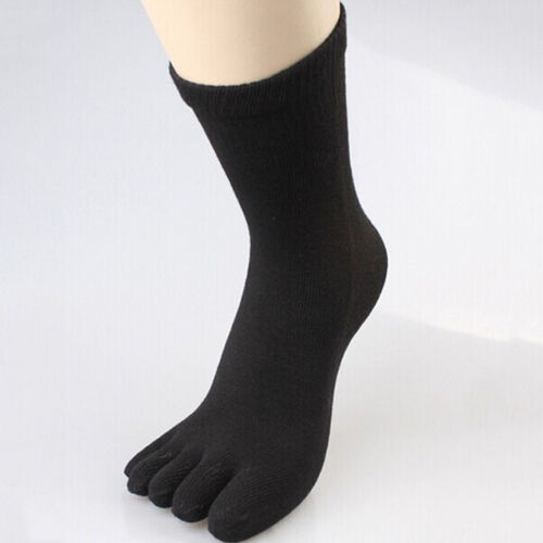 7Pairs Hot Women/'s Men/'s Casual Cotton Toe Socks Sports Five Finger Socks 8Color