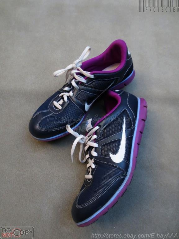 EUC  Women NIKE bluee Purple Oceania NM Running shoes 9.5 US  41 EU