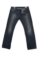 Diesel Vintage Jeans with Button Men Blue W35 L33.5 -J1757
