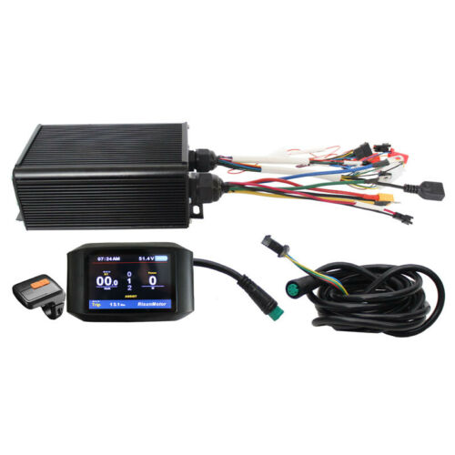 36V-72V 45A 1000W-2000W Sine Wave Intelligent Controller LCD Display For EBike