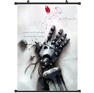 Anime Fullmetal Alchemist Brotherhood wall Poster Scroll cosplay 21*30cm