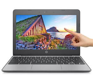 NEW-HP-Chromebook-11-6-034-HD-Touchscreen-Intel-N3060-4GB-SDRAM-16GB-eMMC-Webcam-BT