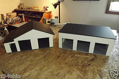 1/24 & 1/25 Diorama 3 Bay and 2 Bay Garage/Work Shop Both Buildings ! WOW L@@K