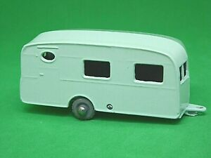 Matchbox-Lesney-No-23a-Berkeley-Cavalier-Caravan-raro-color-verde-palido