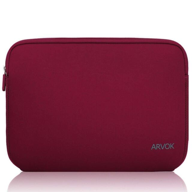 2e8891e8925e1 Water Resistant 13 14 Inch Laptop Sleeve Bag Neoprene Notebook Carry Case  Red