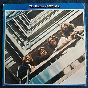 The-Beatles-039-1967-1970-039-original-1973-2-x-vinyl-LP