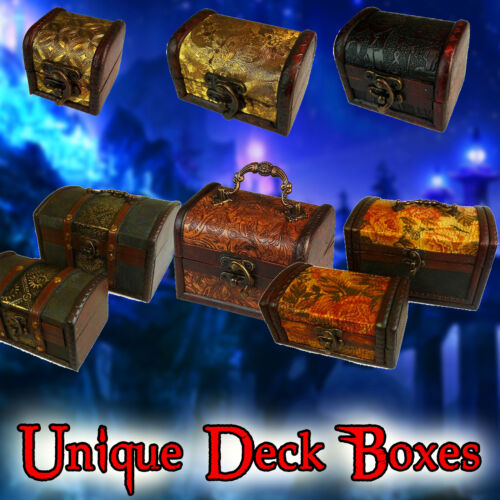 UNIQUE DECK and/or DICE BOXYu-Gi-Oh, Magic the Gathering MTG, Pokemon