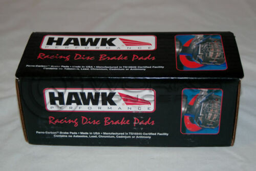 Boxster 986 Hawk HP Plus Brake Pads Rear For HB290N.606