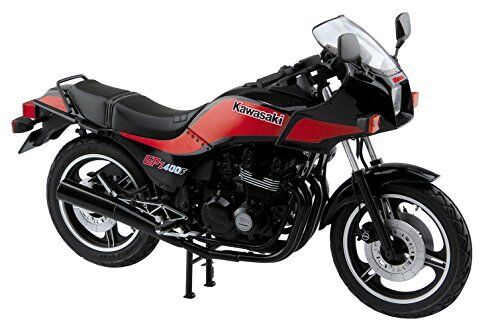 Aoshima 1 12 BIKE Kawasaki GPz400F Plastic Model Kit from Japan NEW