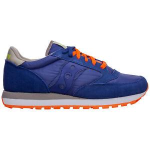 Saucony sneakers men jazz original S2044-561 block heel logo detail suede shoes