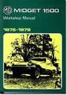 MG Midget 1500cc 1975-1979 by Brooklands Books Ltd (Paperback, 1996)