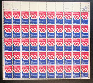 #1825 – FULL SHEET of 50 - Veterans Administration - 15 cent stamps