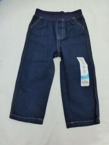 NWT BABY GIRLS JUMPING BEANS JEANS PANTS NJ53X204R BLUE RINSE