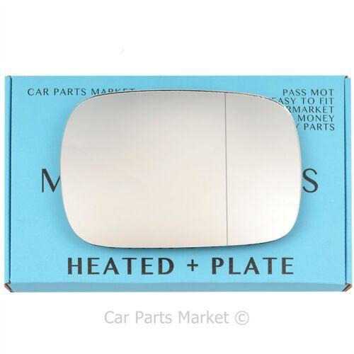 Plaque Côté droit grand angle wing porte miroir verre pour Volvo XC90 01-06 Chauffé