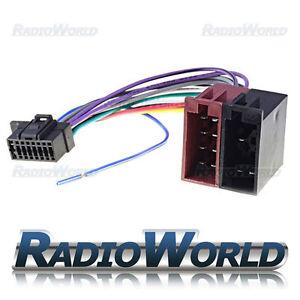 SONY-16-Pin-arnes-de-cableado-ISO-2013-Adaptador-de-conector-estereo-de-coche-radio-Telar