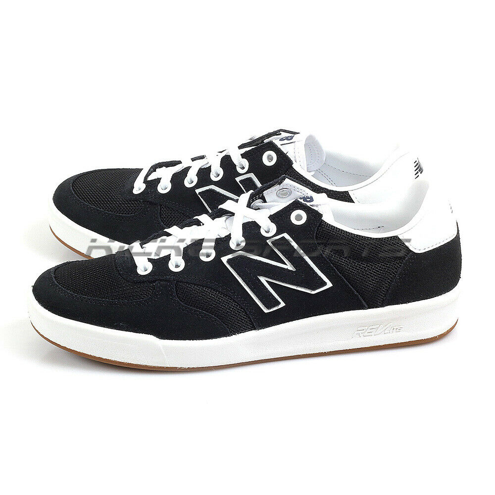 New Balance CRT300HO D Black & White Classic Suede Lifestyle Casual shoes NB