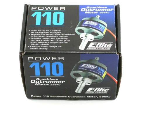 Eflite Power 110 Brushless Out Runner Outrunner RC Airplane Motor EFLM4110A