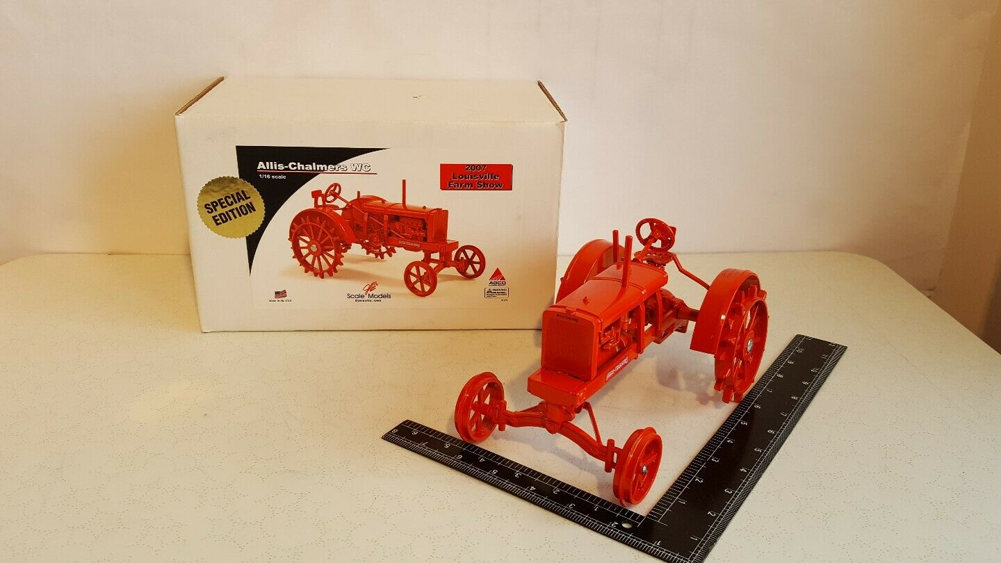 Allis Chalmers WC 1/16 diecast farm tractor replica collectible by SpecCast