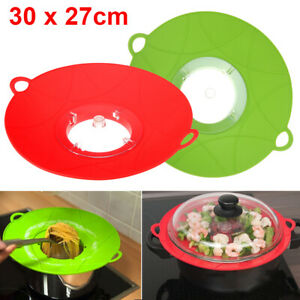 Silicone-Anti-Overflow-Boil-Pot-Lid-Spill-Stopper-Pan-Cover-Kitchen-Cook